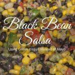 Newlywed Recipe- Black Bean Salsa