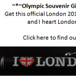 Olympic Souvenir Giveaway
