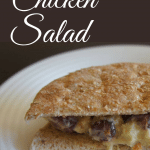 Healthy No Mayo Chicken Salad