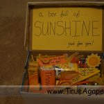 Receiving Gifts- Box Full of Sunshine