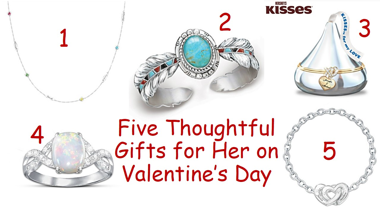 5 thoughtful gifts for her on Valentine's Day