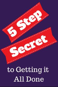 5 step secret