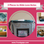 5 Places to Hide a Love Note