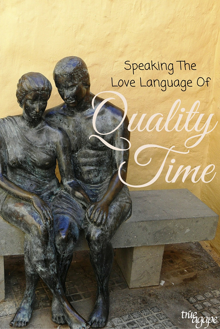 SpeakingtheLoveLanguageofqualitytime often times can feel like one person is sacrificing. But it doesn't have to be that way!