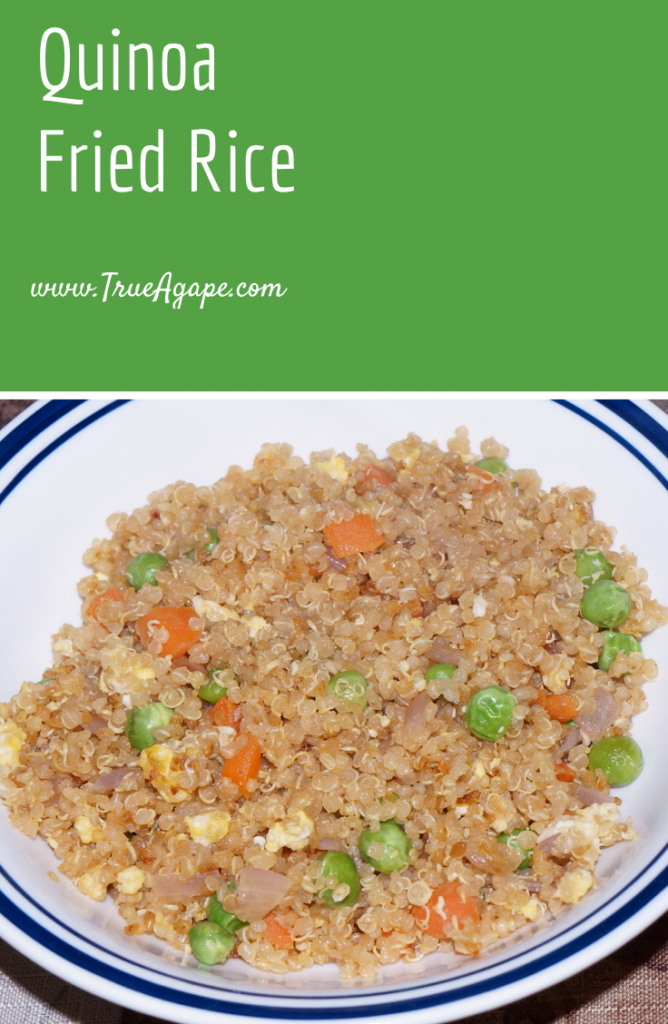 Quinoa Fried Rice Recipe | True Agape Newlywed Blog
