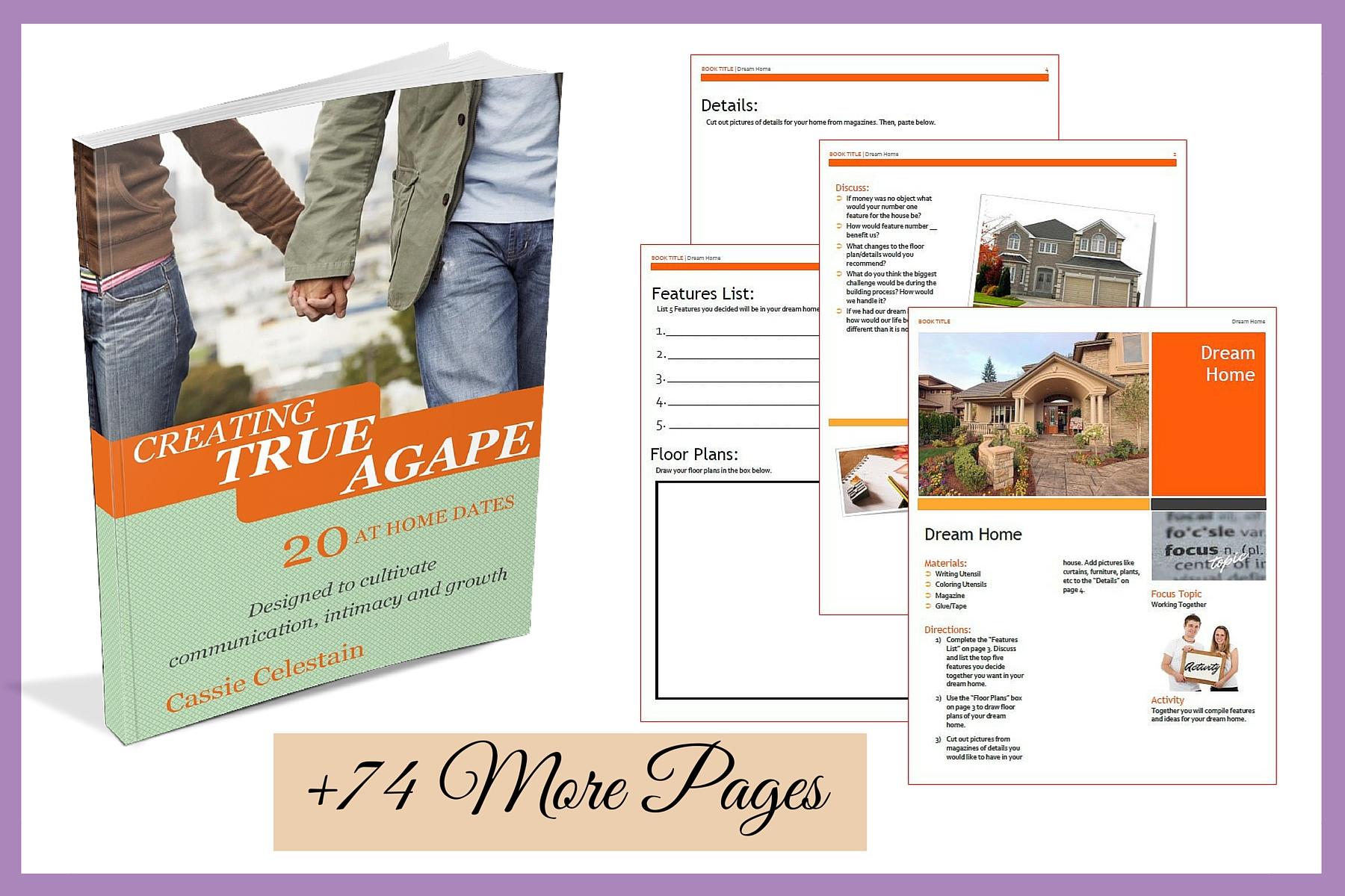 Creating True Agape- 20 at home dates
