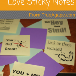 12 Printable Love Sticky Notes