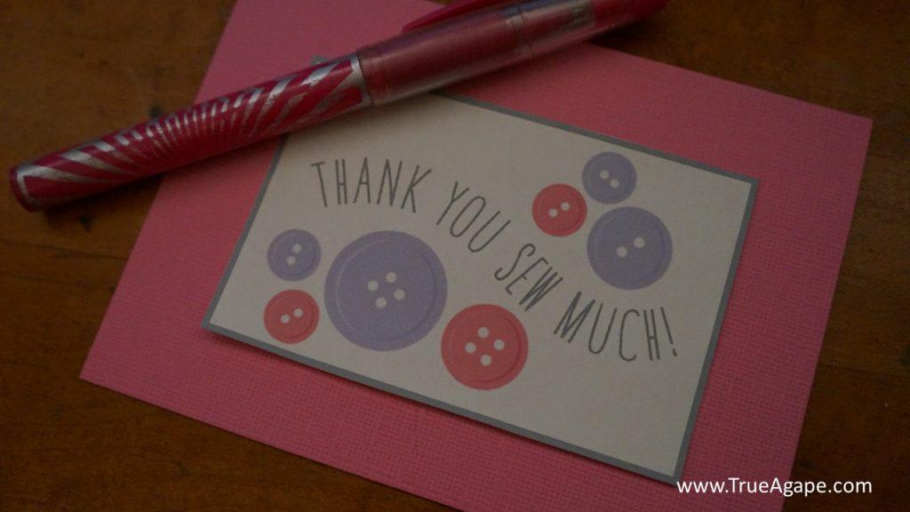 cute as a button thank you