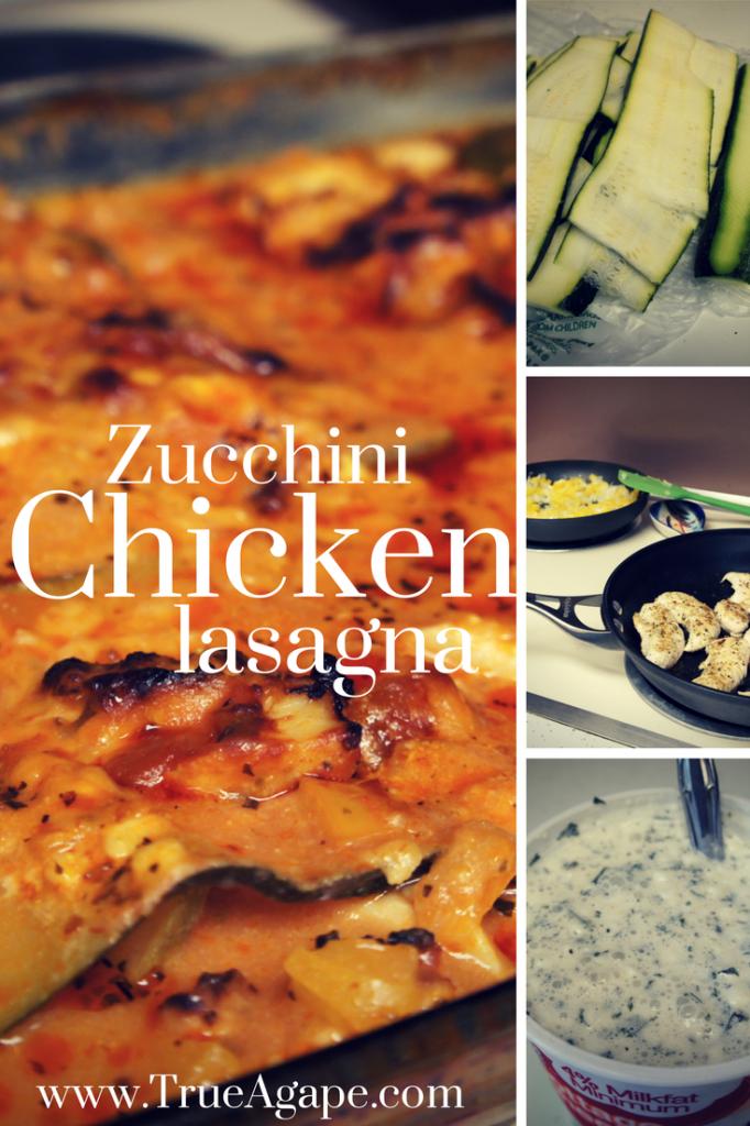 Zucchini Chicken Lasagna