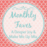 April Monthly Favorites