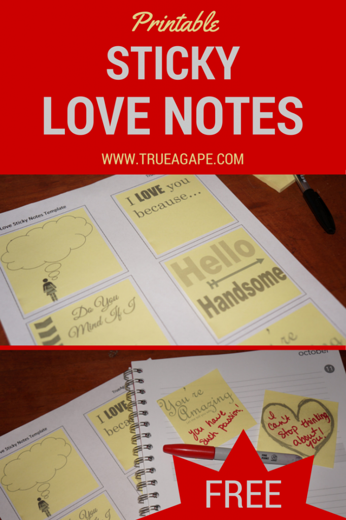 Sticky Love Notes