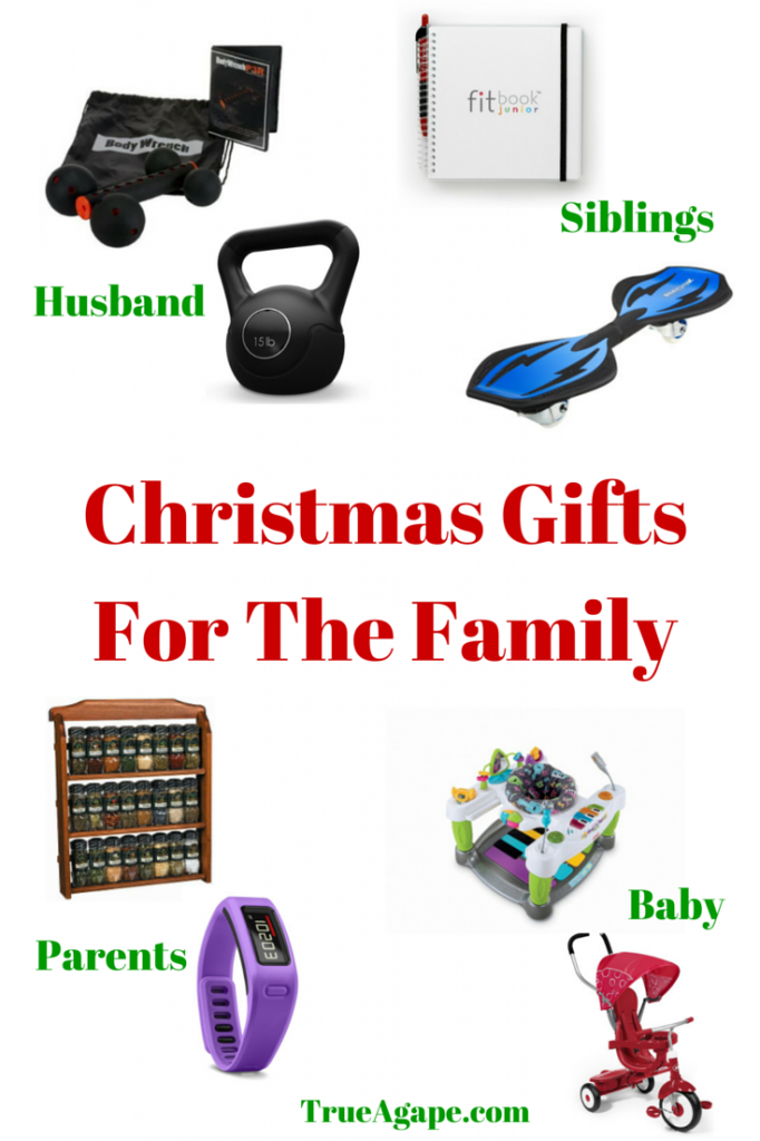 Christmas Gifts For The Family