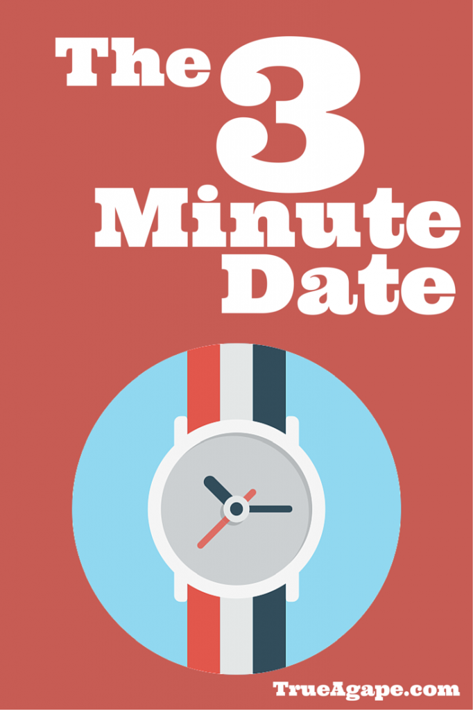 The 3 minute date