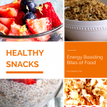 6 Healthy Snacks + Giveaway
