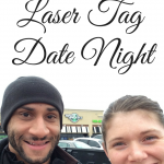Our Laser Tag Date Night