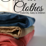 This is the BEST way I have figured out how to save money on maternity, baby and children clothes!