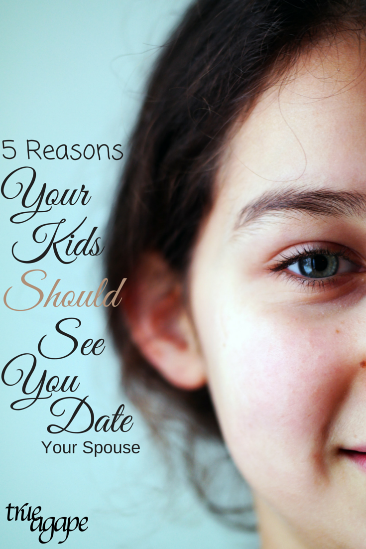Sometimes we might feel bad when we put our spouse first. But these 5 reasons make sense why our kids should see us date our spouse.