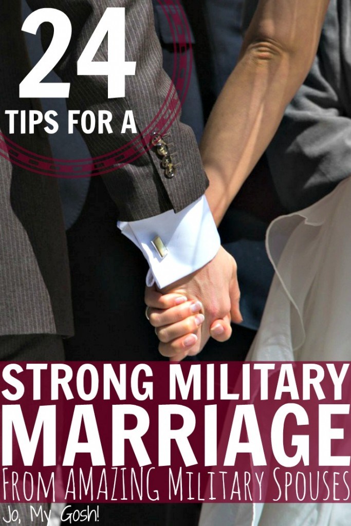 These tips are not just for military marriages, but for any marriages! Some great stuff here.