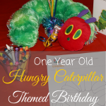 Hungry Caterpillar Theme Birthday for a one year old is easy decorations and food!