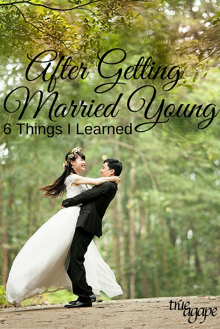 Things that I learned from getting married young