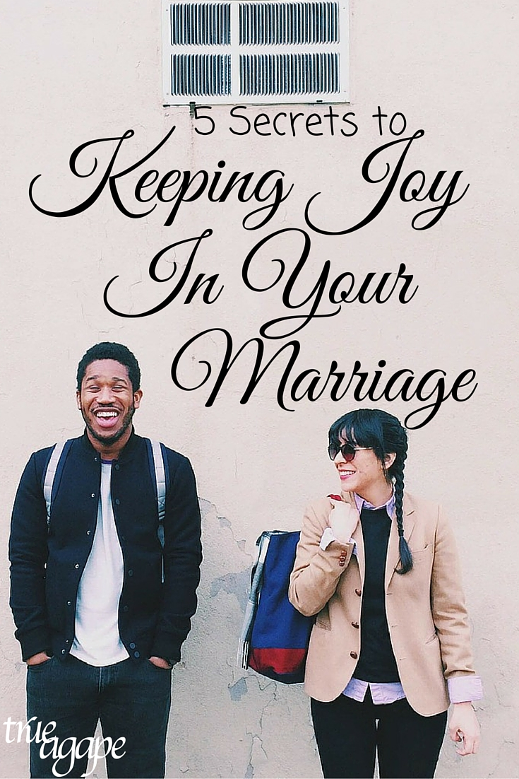 These 5 things will help you create more joy in our marriage!