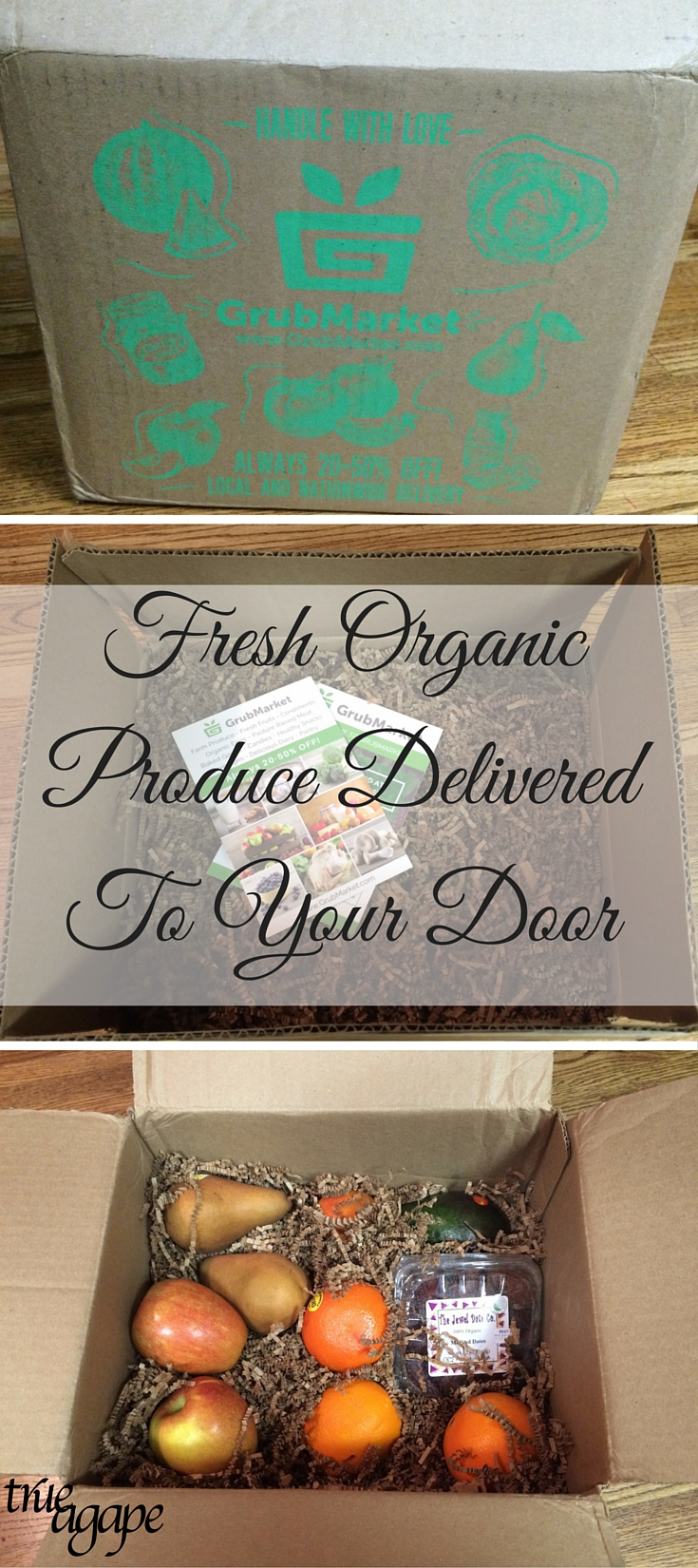 Super easy...How to get fresh organic produce delivered to your door