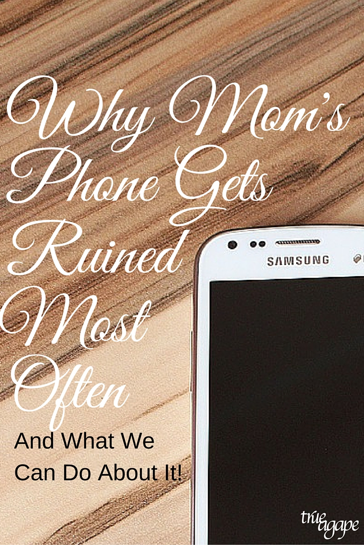 The number one reason that moms phones get broken probably isn't what you are thinking!
