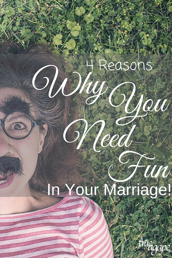 Sometimes marriage can become just a to do list of things and that is exactly why Amy shares 4 reasons why you need fun in your marriage!