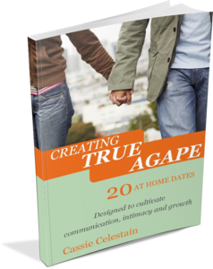 Creating True Agape: 20 At Home Dates. I created these dates after being intentional about my marriage and it helping reignite our marriage.
