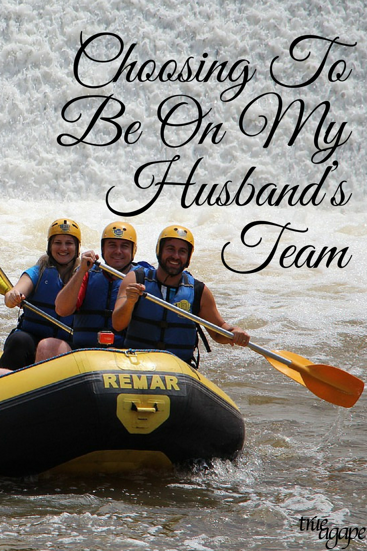 Daily in marriage we get to choose to be on our husbands team or his opponent. Here are some benefits of choosing to be on his team!