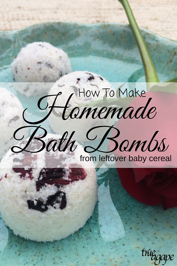 Make bath bombs using leftover Nestle Gerber baby cereal for mom to enjoy! #CookingWithGerber