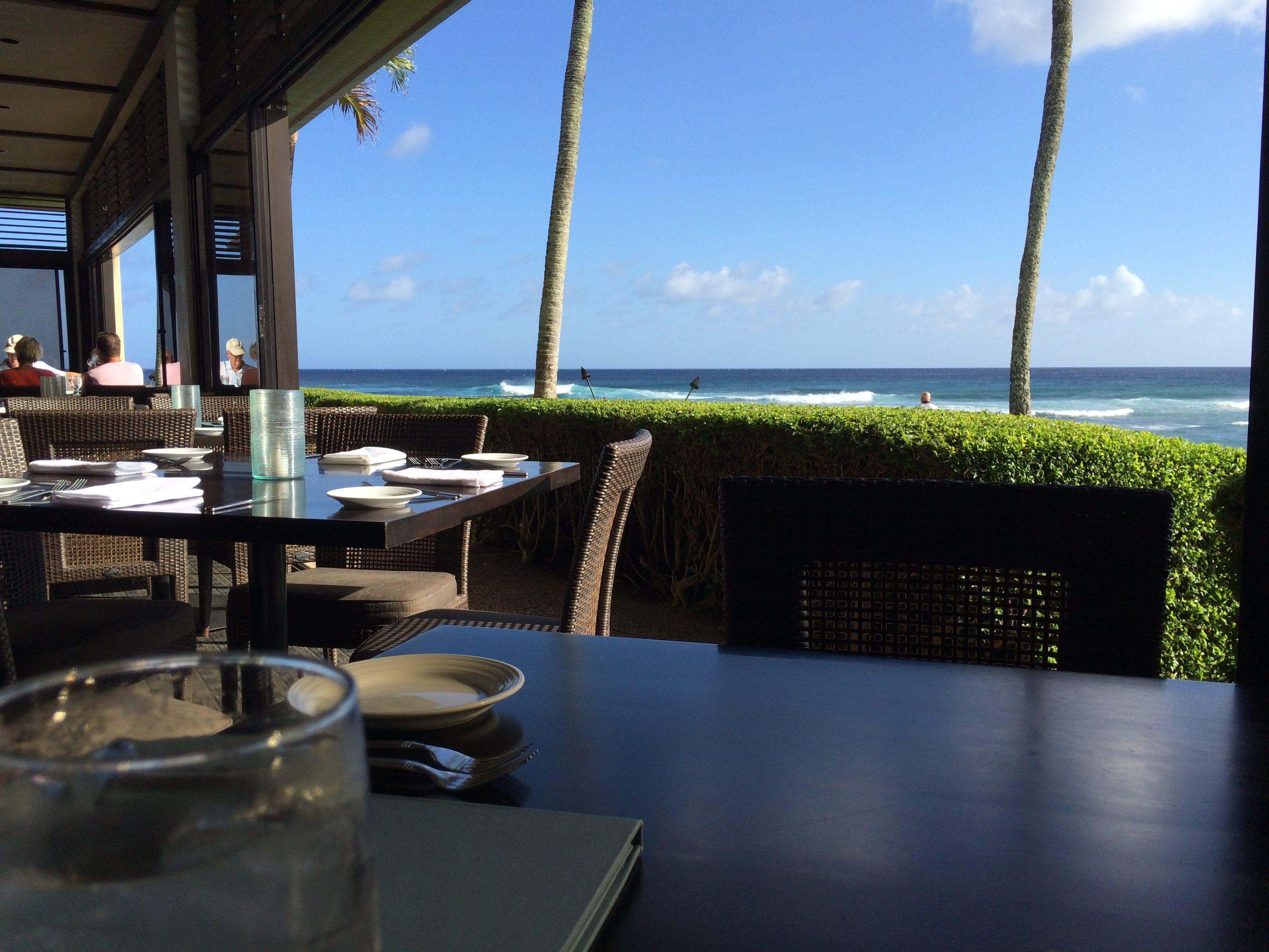 Kauai Hawaii The Beach House Dinner