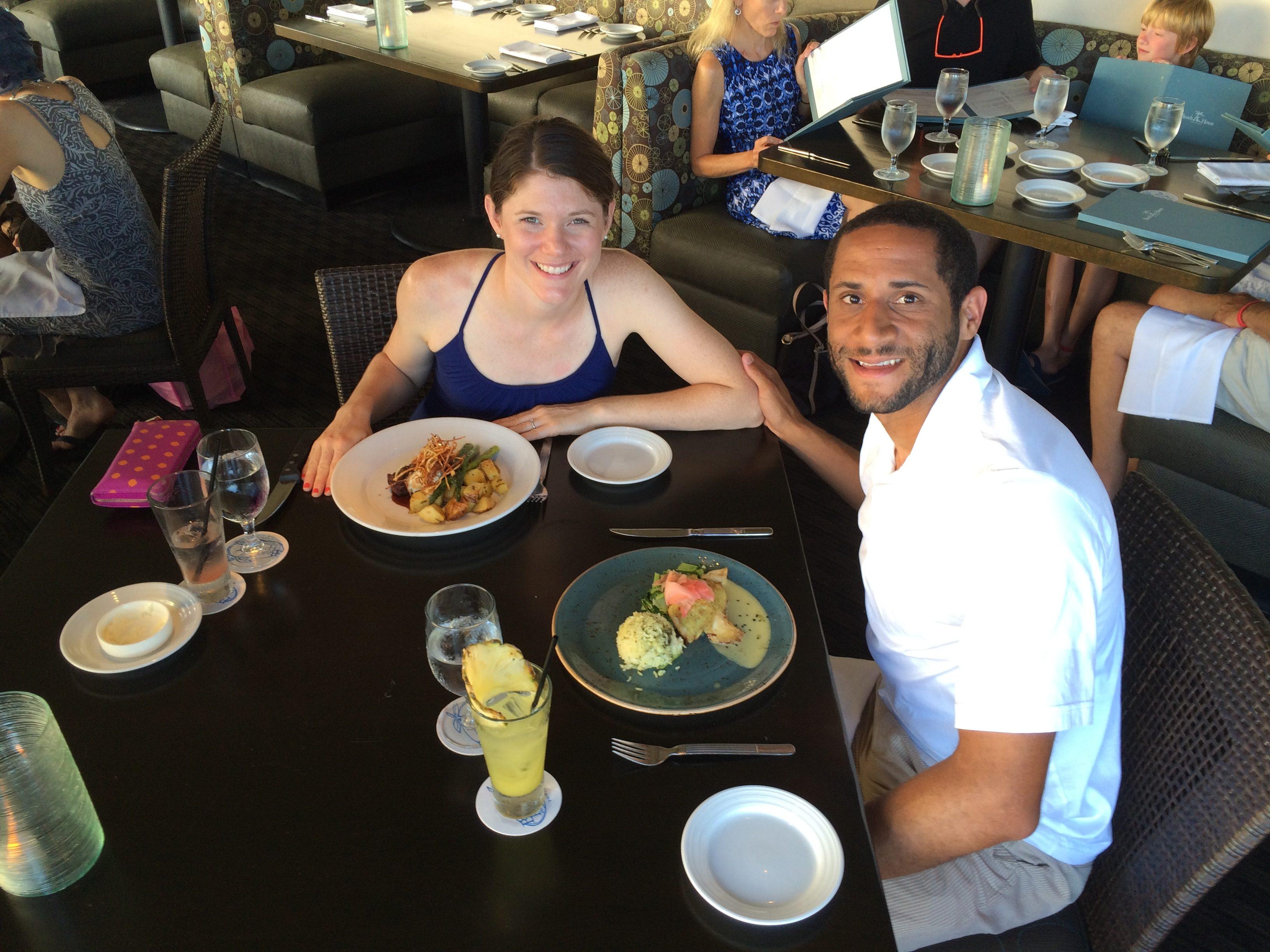 Kauai Hawaii The Beach House Romantic Dinner