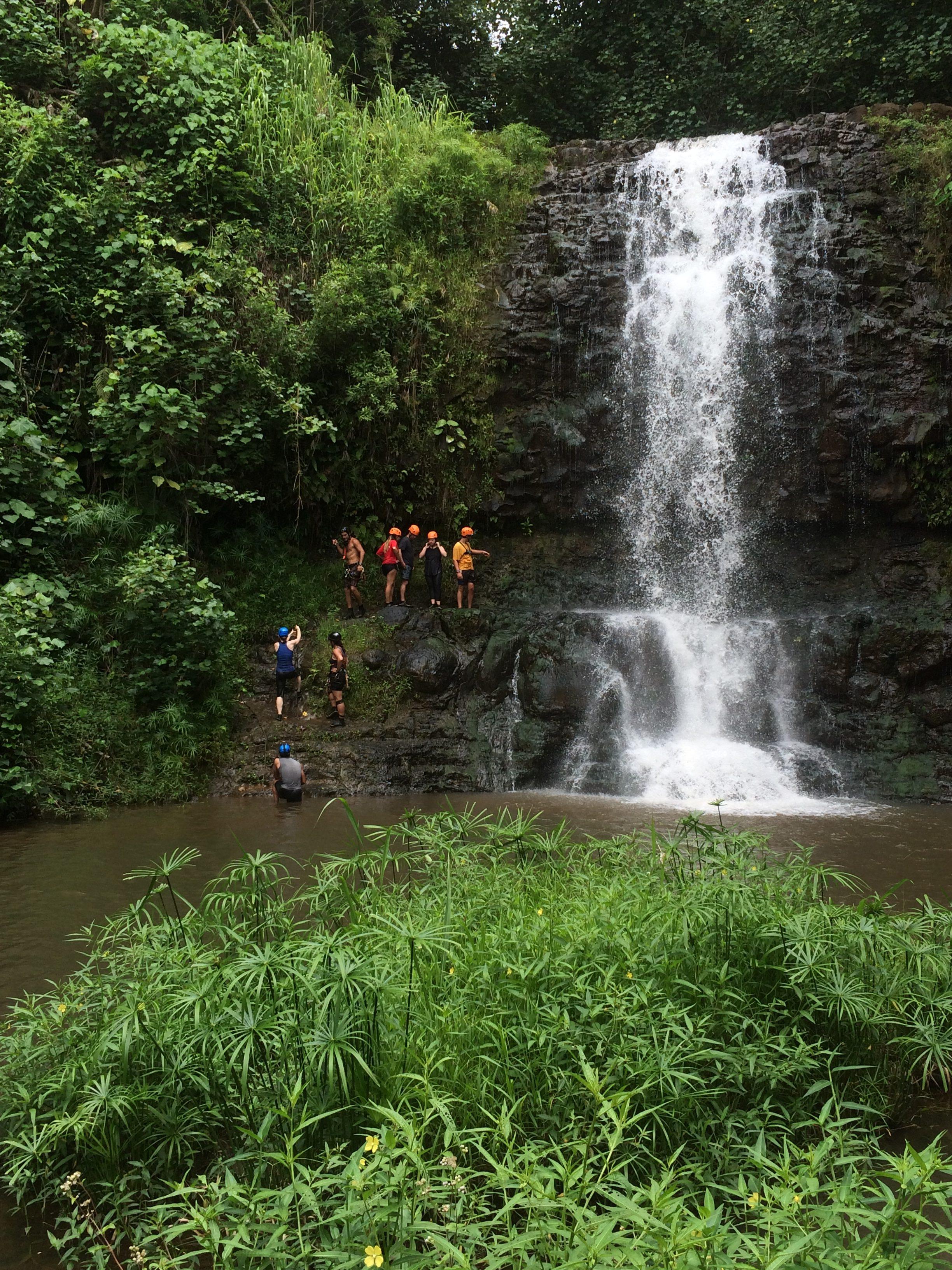 Island Adventures Waterfall Rappel Kauai Hawaii