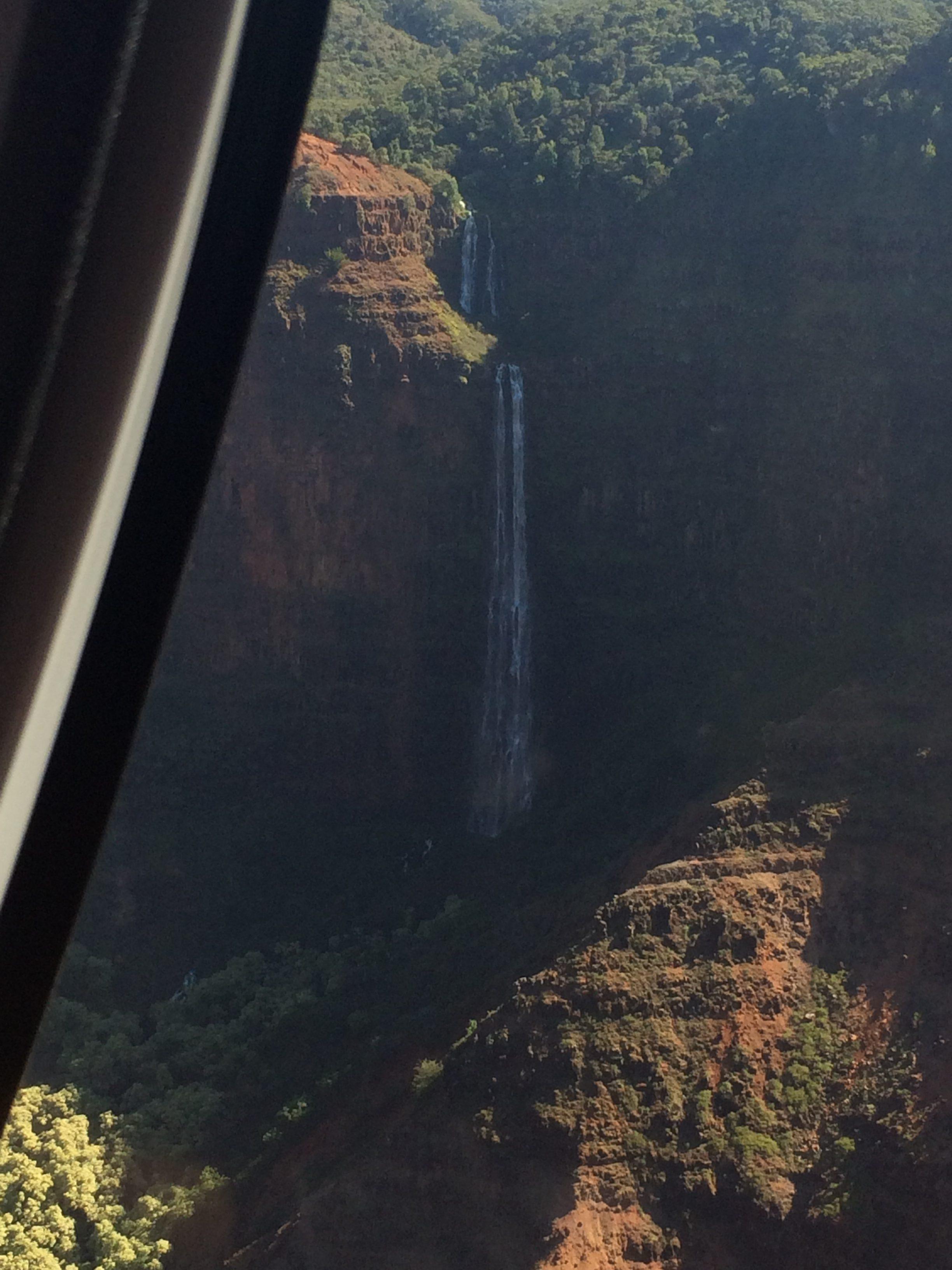 Kauai Hawaii Anniversary vacation Blue Hawaiian Helicopter Tour