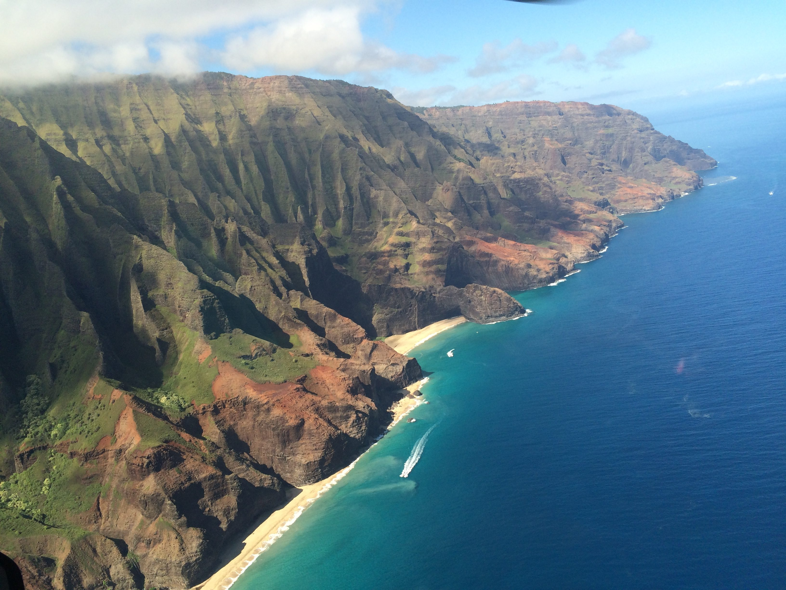 Kauai Hawaii Anniversary vacation Blue Hawaiian Helicopter Tour