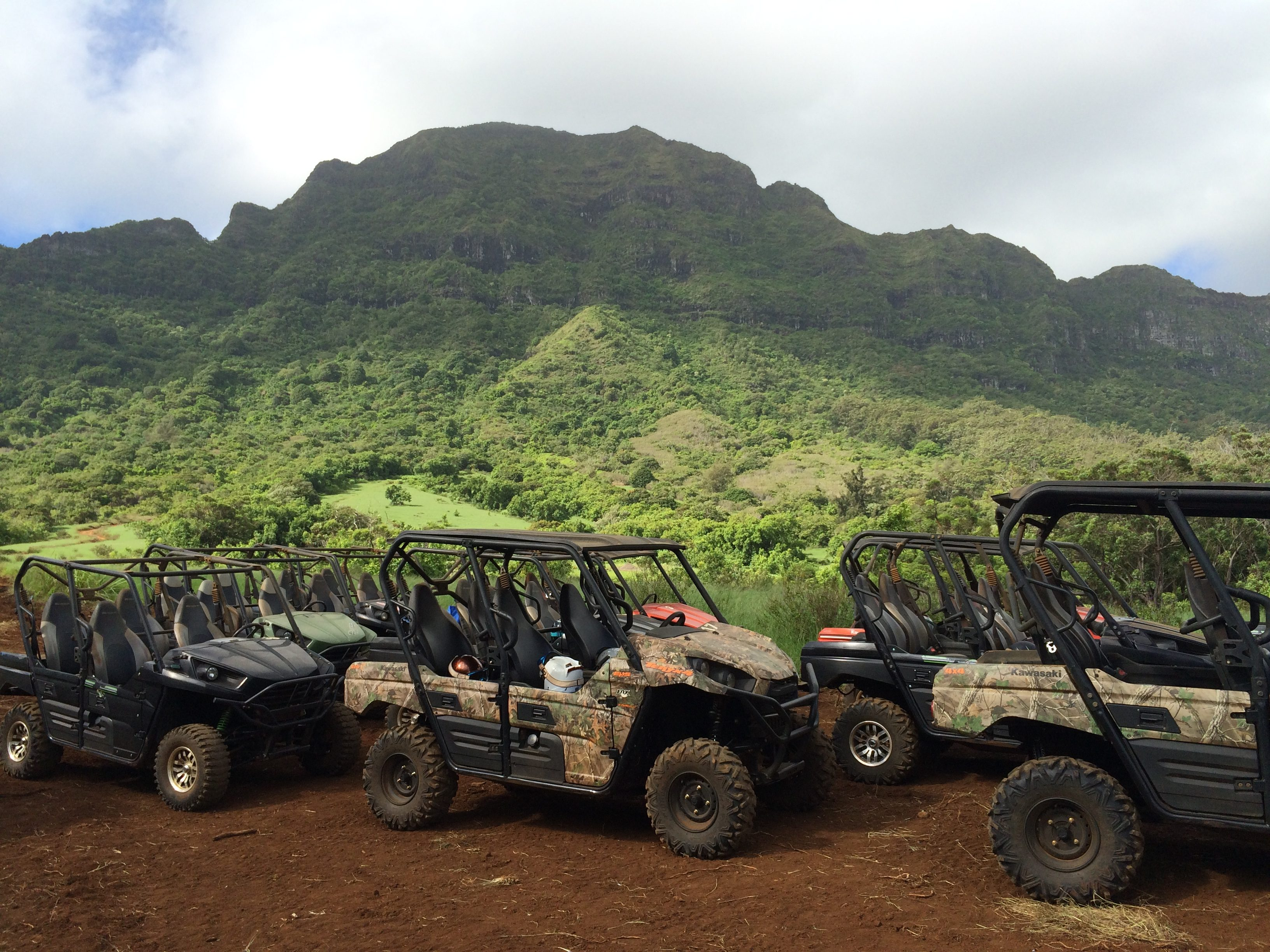 Kauai Hawaii Kipu Ranch ATV Tour