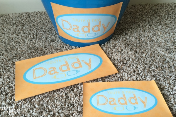 New Daddy Gift Basket Printables makes for an easy and meaningful gift for the new daddy.