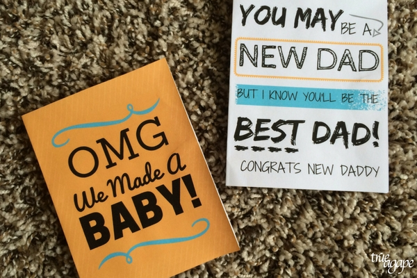 New Daddy Gift Basket Printables makes for an easy and meaningful gift for the new daddy. Printable cards for new daddy.