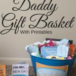New Daddy Gift Basket Printables