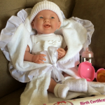 How To Prepare Your Toddler For A New Baby with JC Toys Newborn soft body baby dolls.