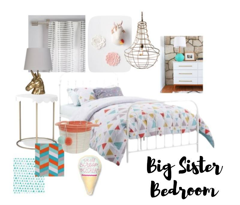 Toddler Room Inspiration Board featuring Unicorns from Refunk My Junk
