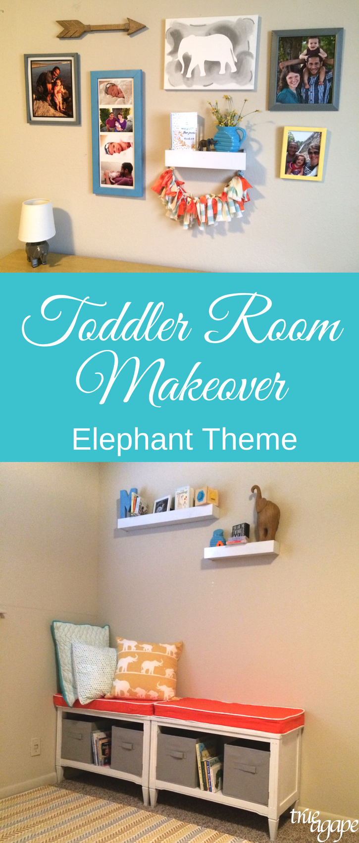 elephant-theme-toddler-room-makeover