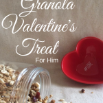 Healthy Organic Granola Valentine's Treat For Him