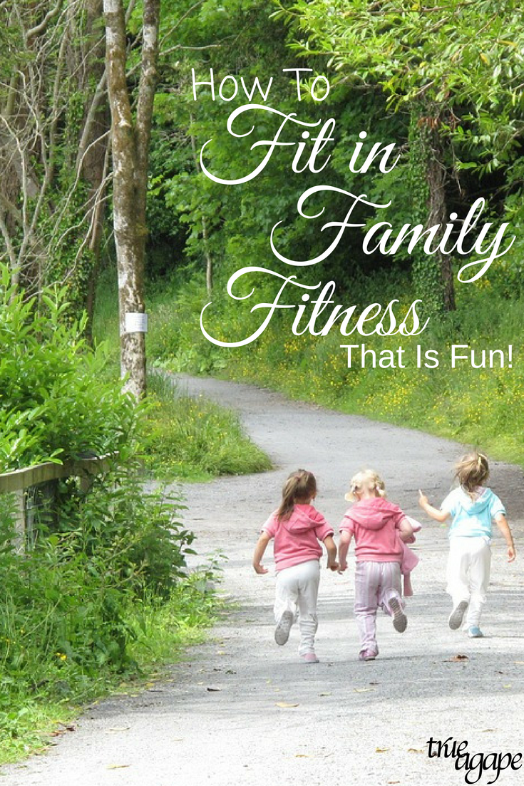 Fitting in fun family fitness doesn't have to be a hassle, it just gets to be intentional. Check out these easy ideas to incorporate daily!