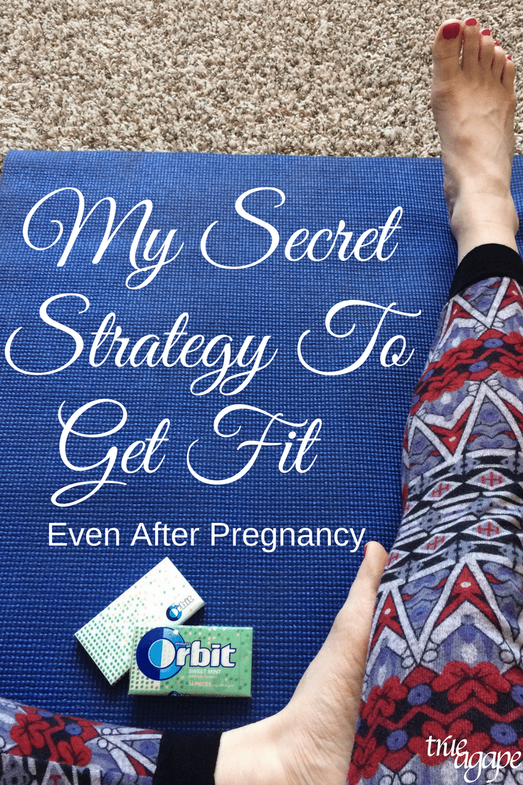 "There are so many ""secret strategies"" about getting fit. Some work and some don't. This is my secret strategy that is super easy!"