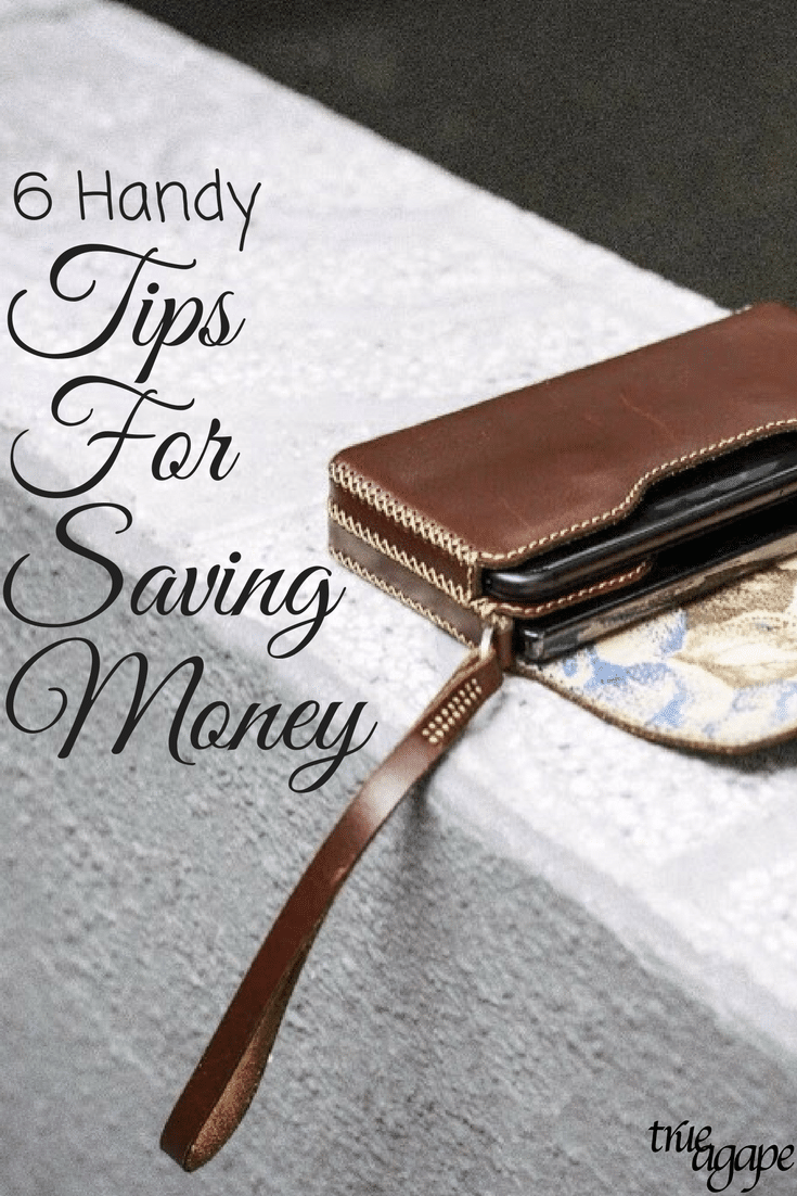 Saving money doesn't have to be hard. It doesn't even have to require crazy tactics. Tamara from Two Hour Couponing shares 6 handy tips she using for saving money.