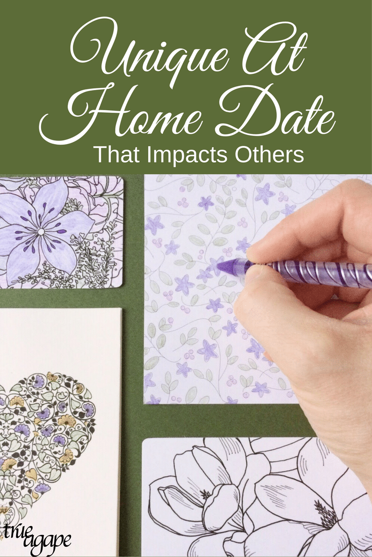 This unique at home date idea not only will be fun for you and your husband, but it also has the opportunity to impact others or be a random act of kindness.