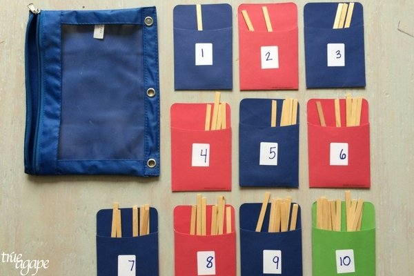 The first round of Toddler Busy Bags For Travel were such a hit with my little one we just had to make some more!