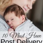 Post delivery care items for mom is something that you should make sure that you gather up for yourself. You have taken a lot of time to prep things for baby. But there are things you need to prep for yourself too.